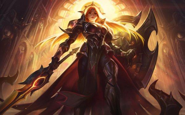 Videojuego League Of Legends Leona Fondo de pantalla HD | Fondo de Escritorio
