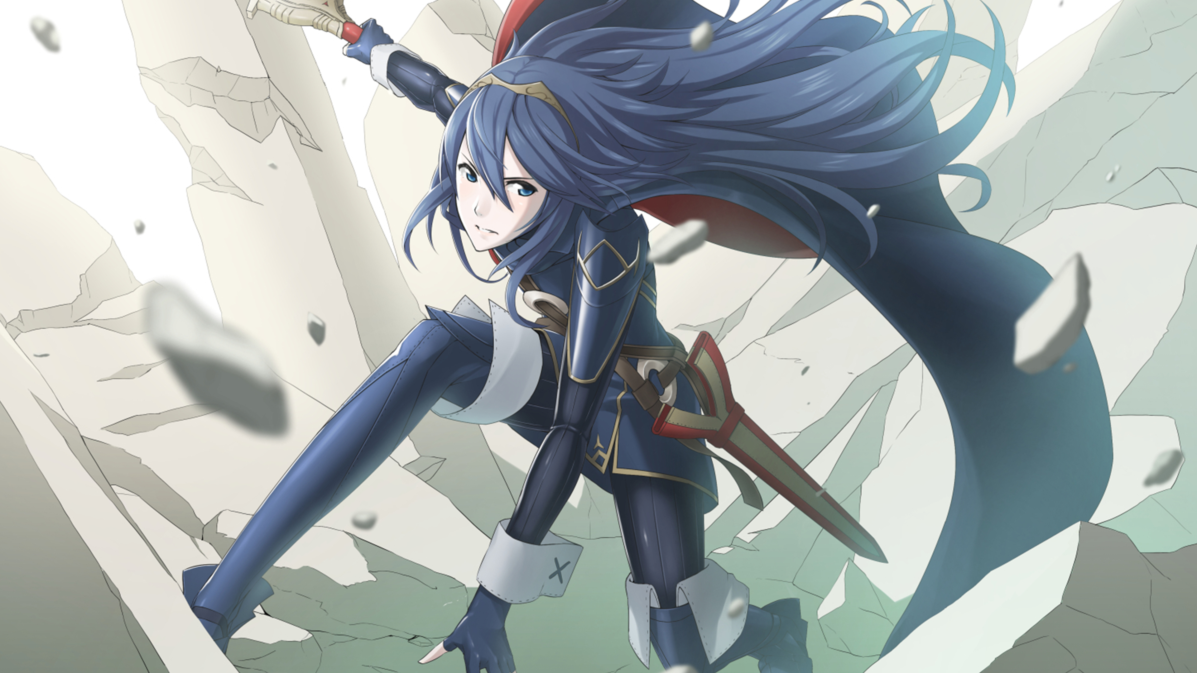 Fire Emblem Awakening Lucina 4k Ultra Hd Wallpaper Background