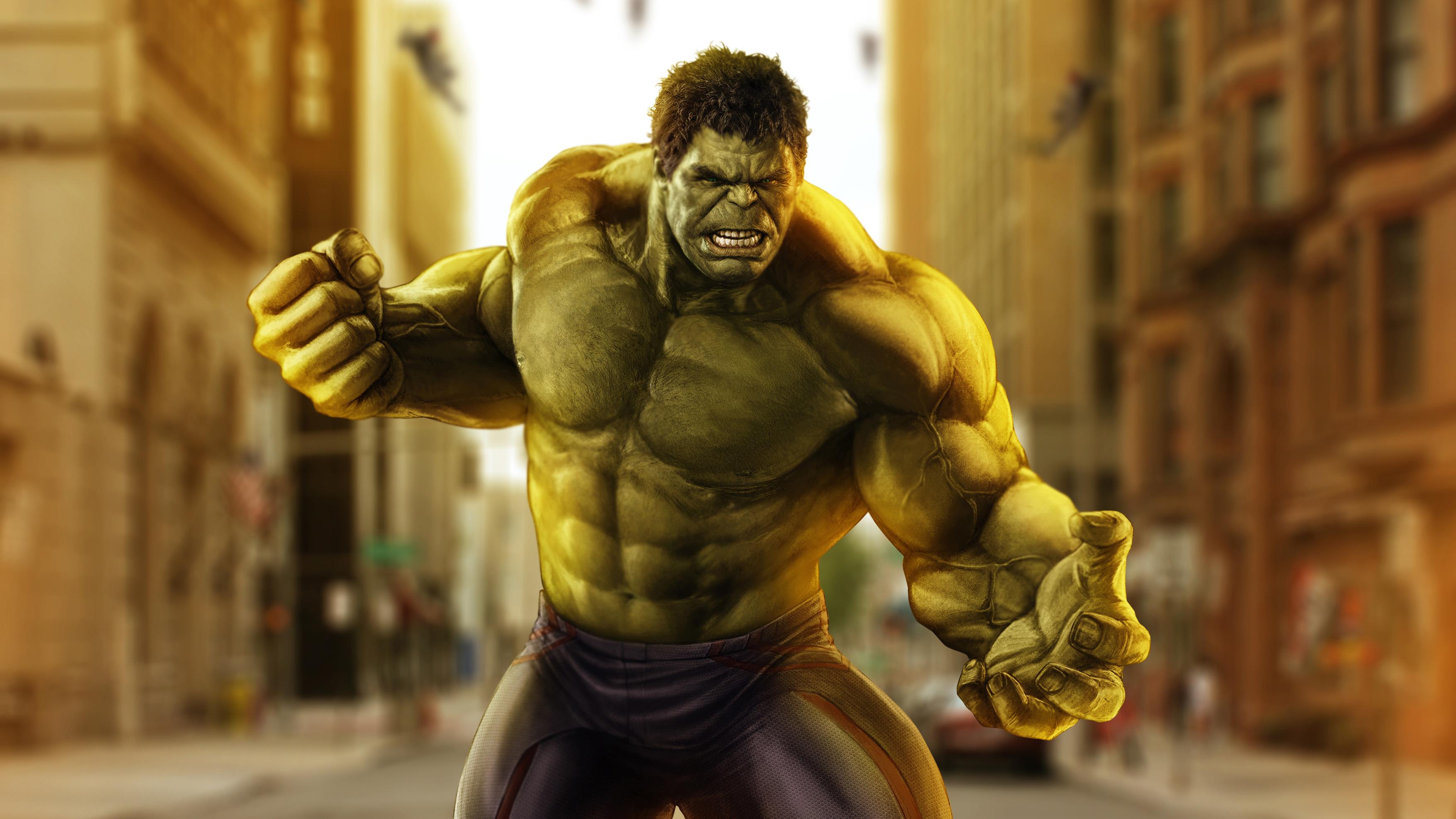 Hulk Hd Wallpaper Background Image 3508x1973 Id 976765