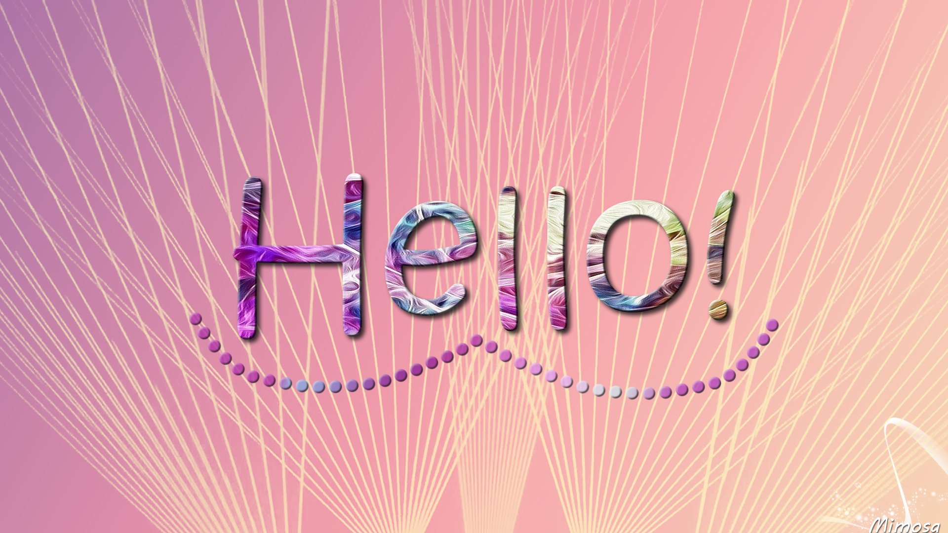 Hello! HD Wallpaper   Background Image   1920x1080   ID:976188 - Wallpaper  Abyss