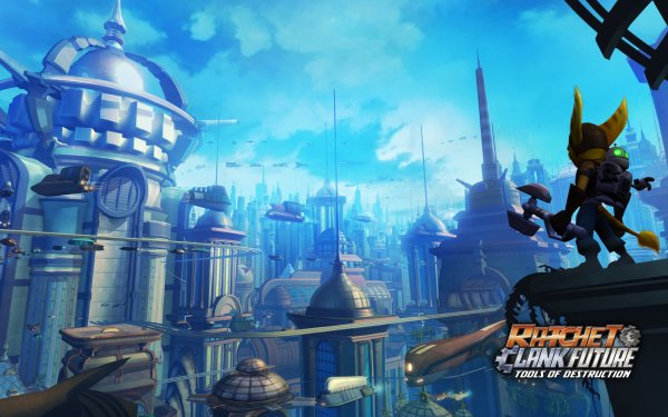 Video Game Ratchet & Clank Future: Tools of Destruction Ratchet & Clank Ratchet Clank HD Wallpaper | Background Image