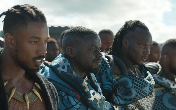 Movie Black Panther Erik Killmonger Michael B. Jordan HD Wallpaper | Background Image