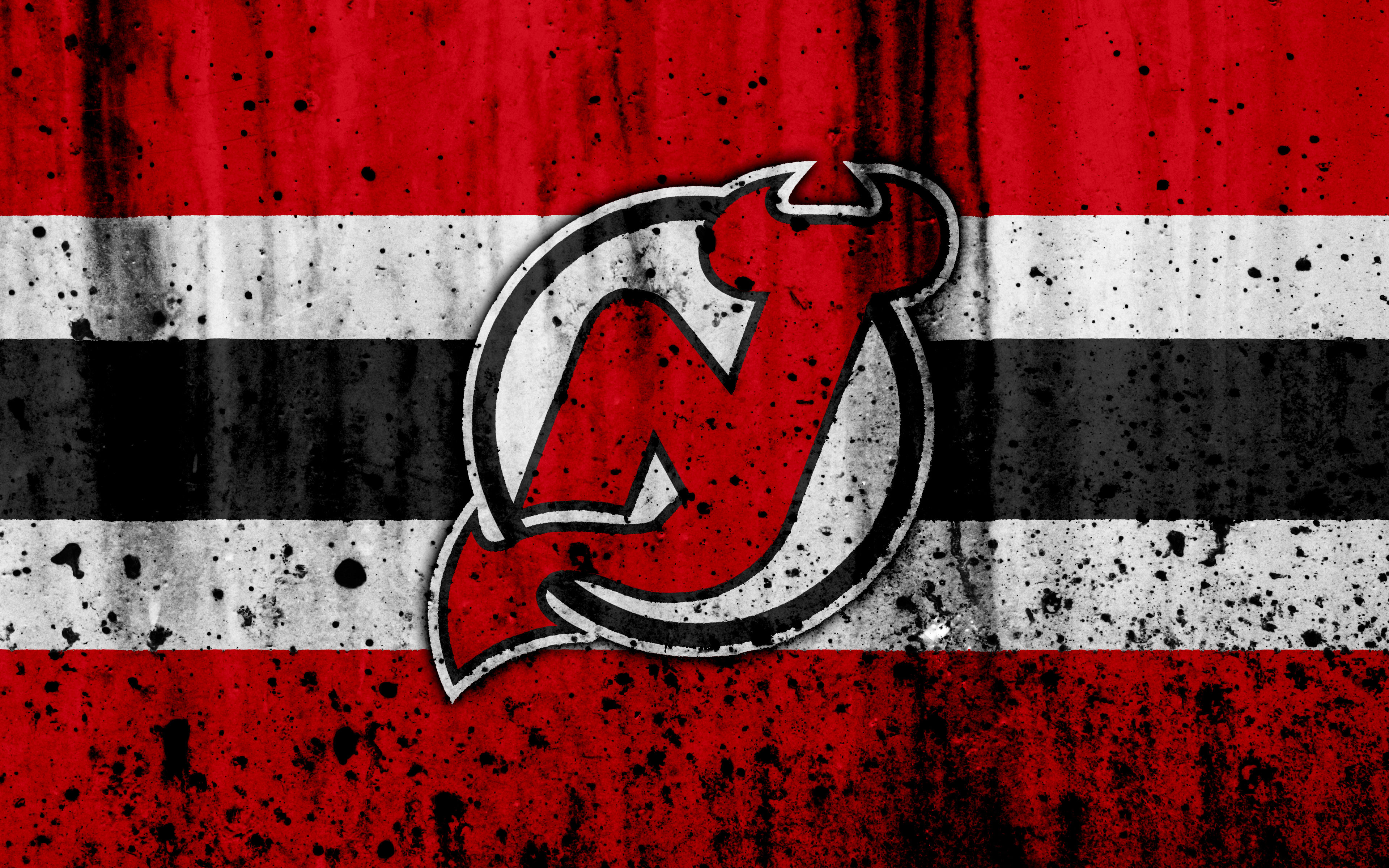 New Jersey Devils 4k Ultra Hd Wallpaper Background Image