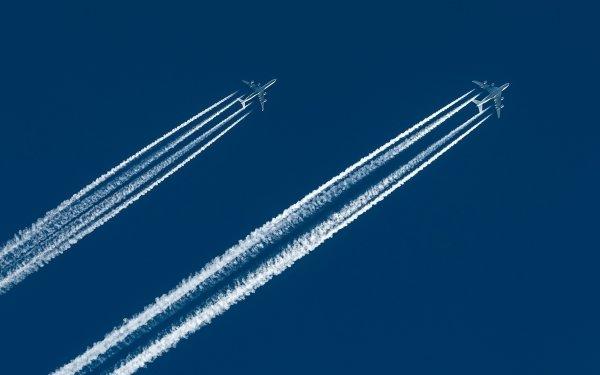 Vehicles Aircraft Sky Passenger Plane HD Wallpaper | Background Image