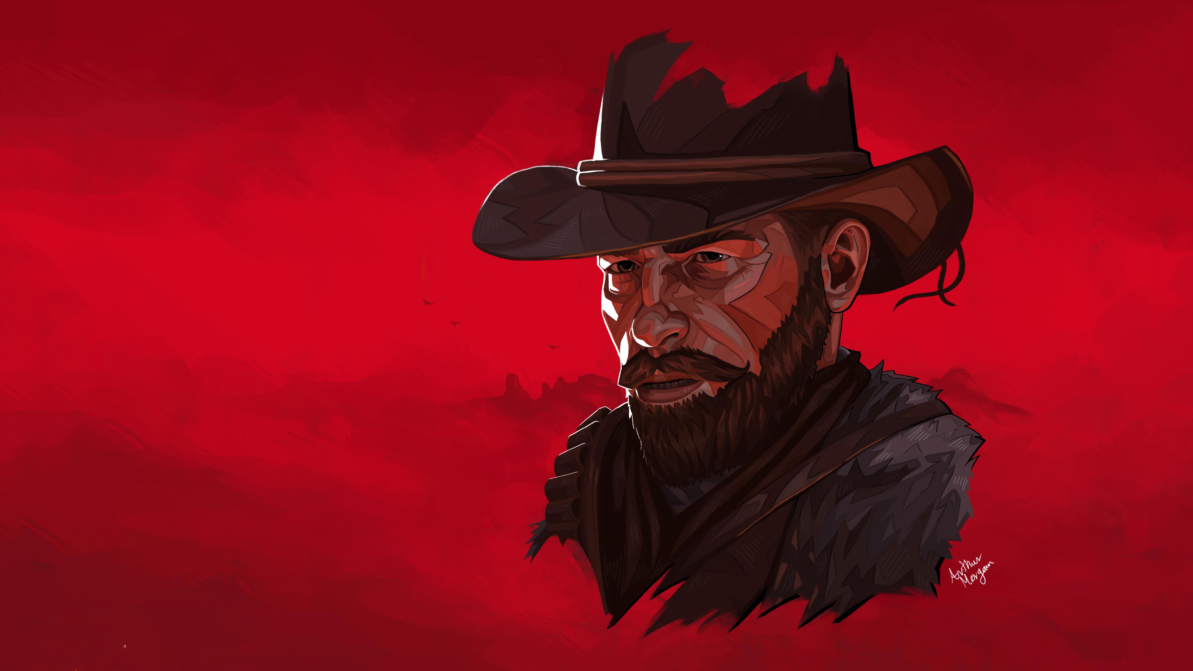 Red Dead Redemption 2 4k Ultra Hd Wallpaper Background Image