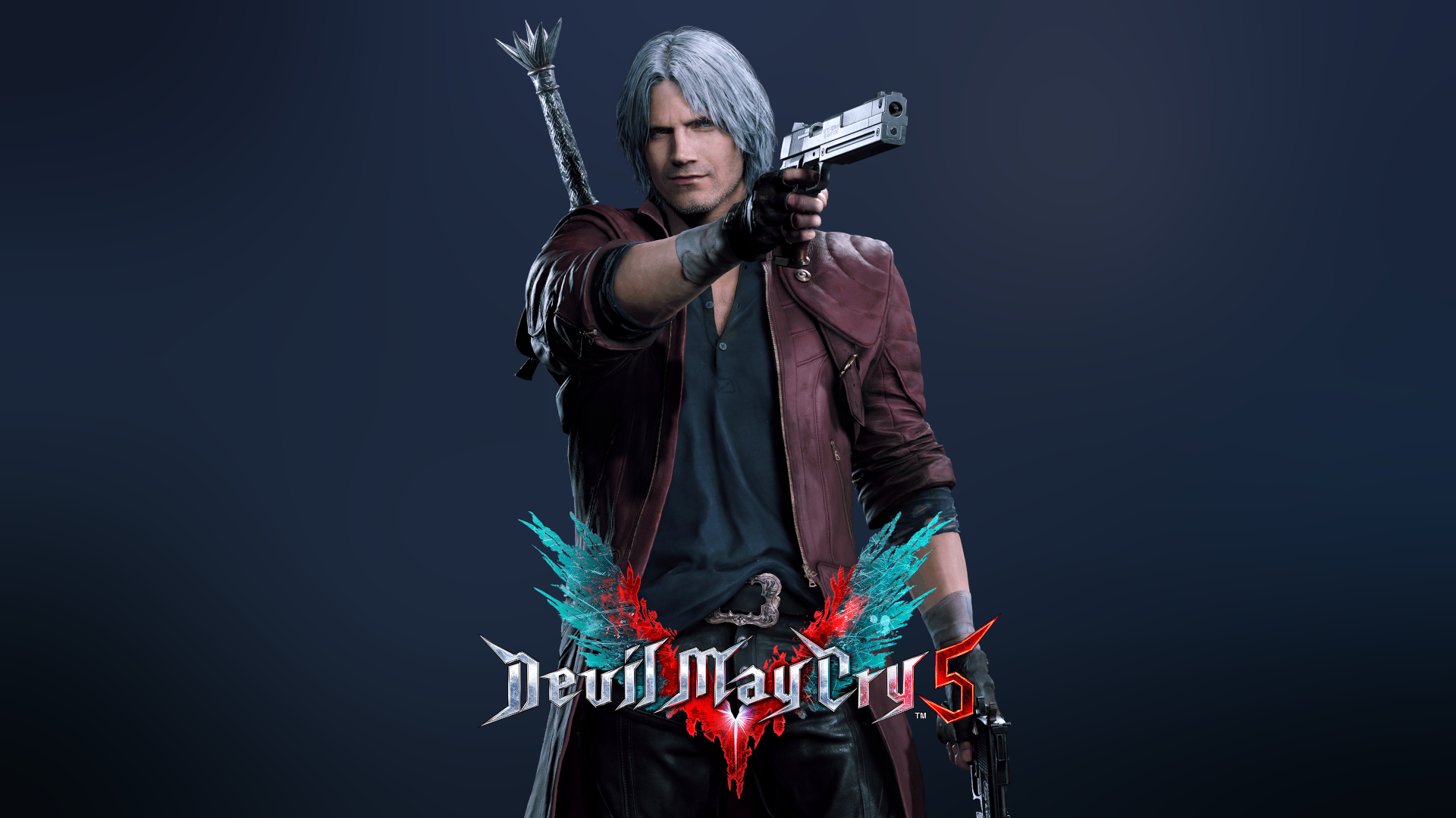 Dante Devil May Cry 5 Hd Wallpaper Background Image
