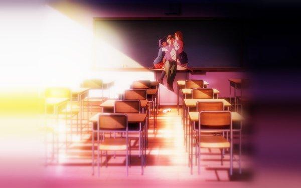 Anime Domestic Girlfriend Hina Tachibana Natsuo Fujii Rui Tachibana HD Wallpaper | Background Image
