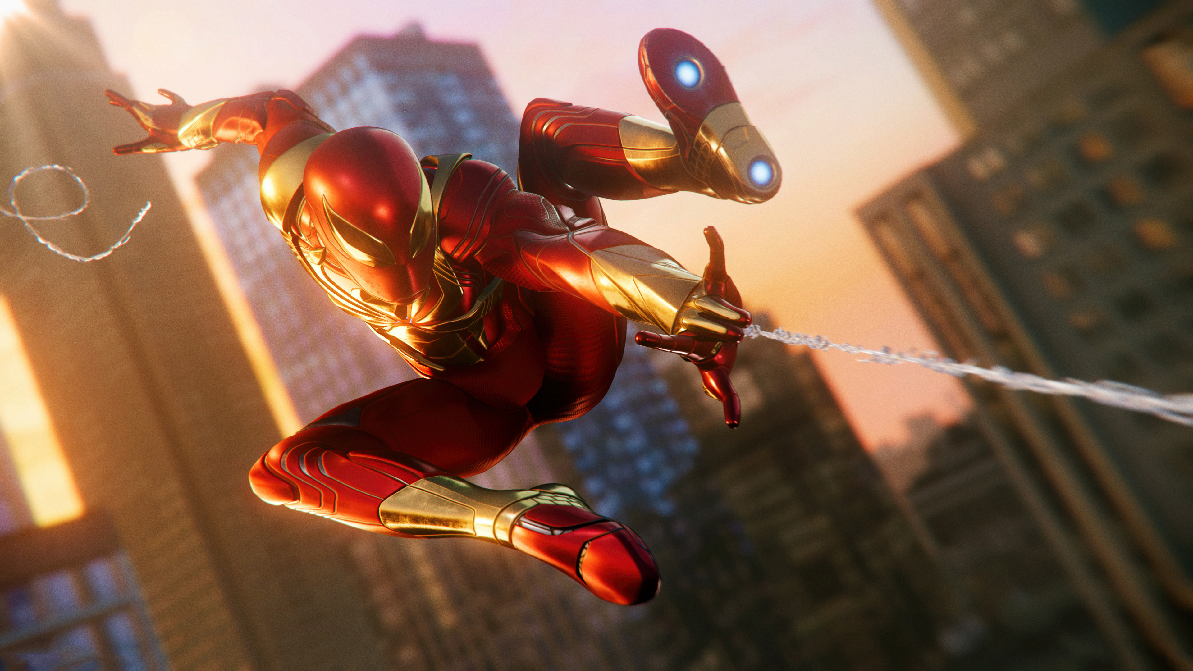 Spider Man Ps4 4k Ultra Hd Wallpaper Background Image