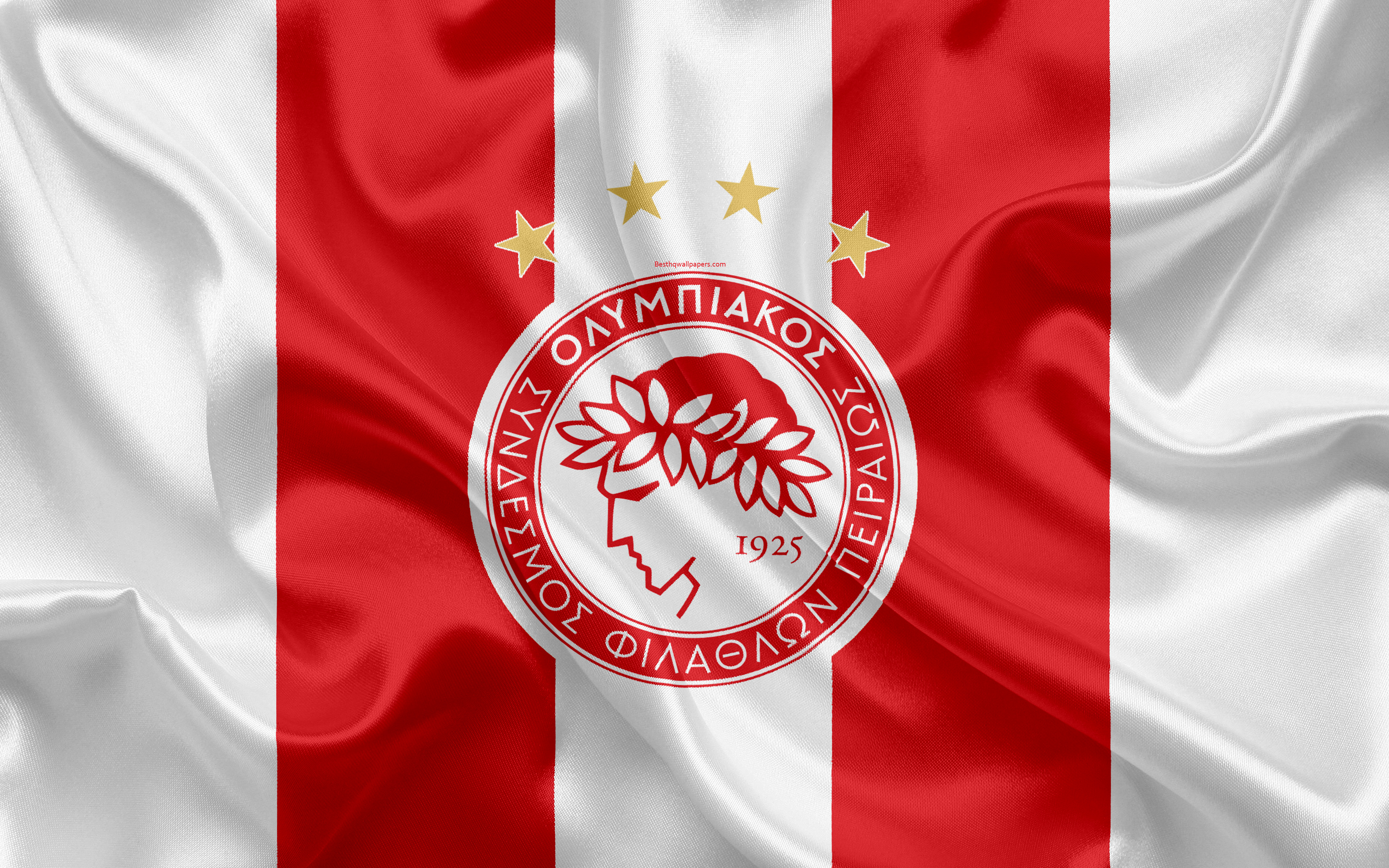 Olympiacos F C 4k Ultra Hd Wallpaper Background Image 3840x2400