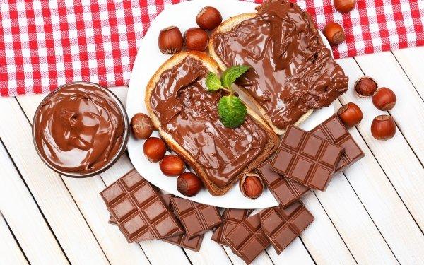 Food Nutella Hazelnut Chocolate HD Wallpaper | Background Image