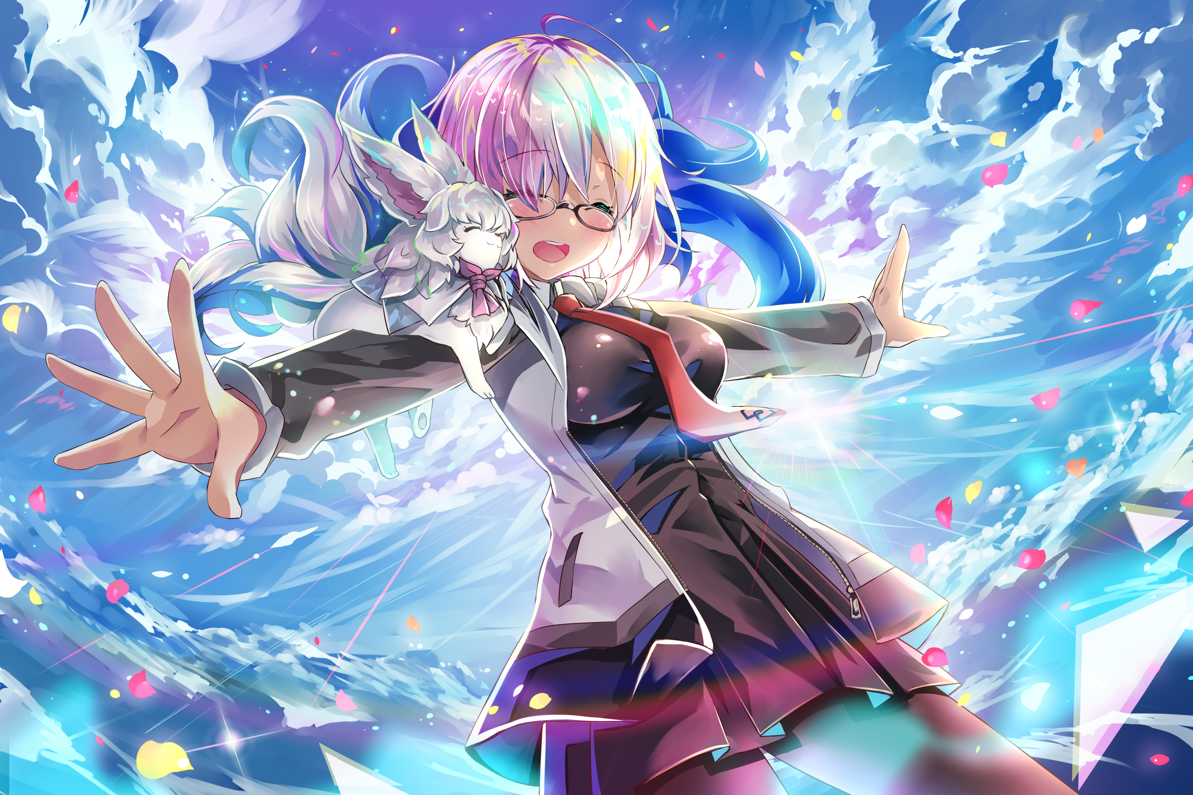 Fate Grand Order Mashu Kyrielight 4k Ultra Hd Wallpaper Background Image 3840x2560 Id 991225 Wallpaper Abyss