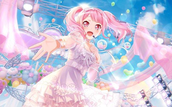Anime BanG Dream! Aya Maruyama Fondo de pantalla HD | Fondo de Escritorio