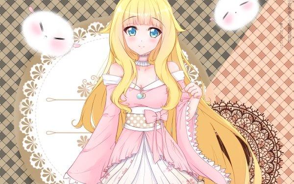 Anime As Miss Beelzebub Likes Beelzebub HD Wallpaper | Background Image