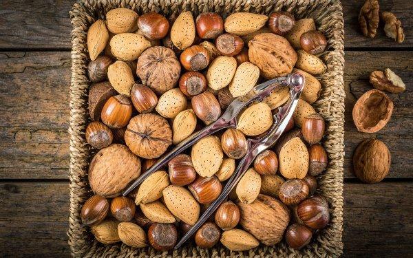 Food Nut Nutcracker HD Wallpaper | Background Image