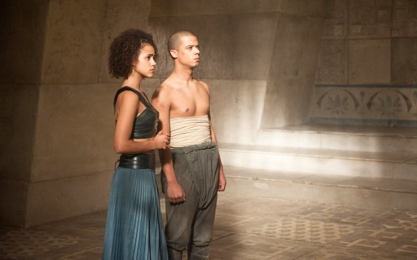 TV Show Game Of Thrones Missandei Grey Worm Jacob Anderson Nathalie Emmanuel HD Wallpaper | Background Image