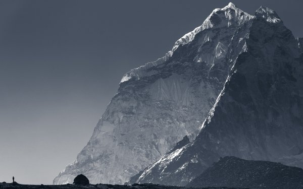 Earth Mountain Mountains Nepal HD Wallpaper   Background Image