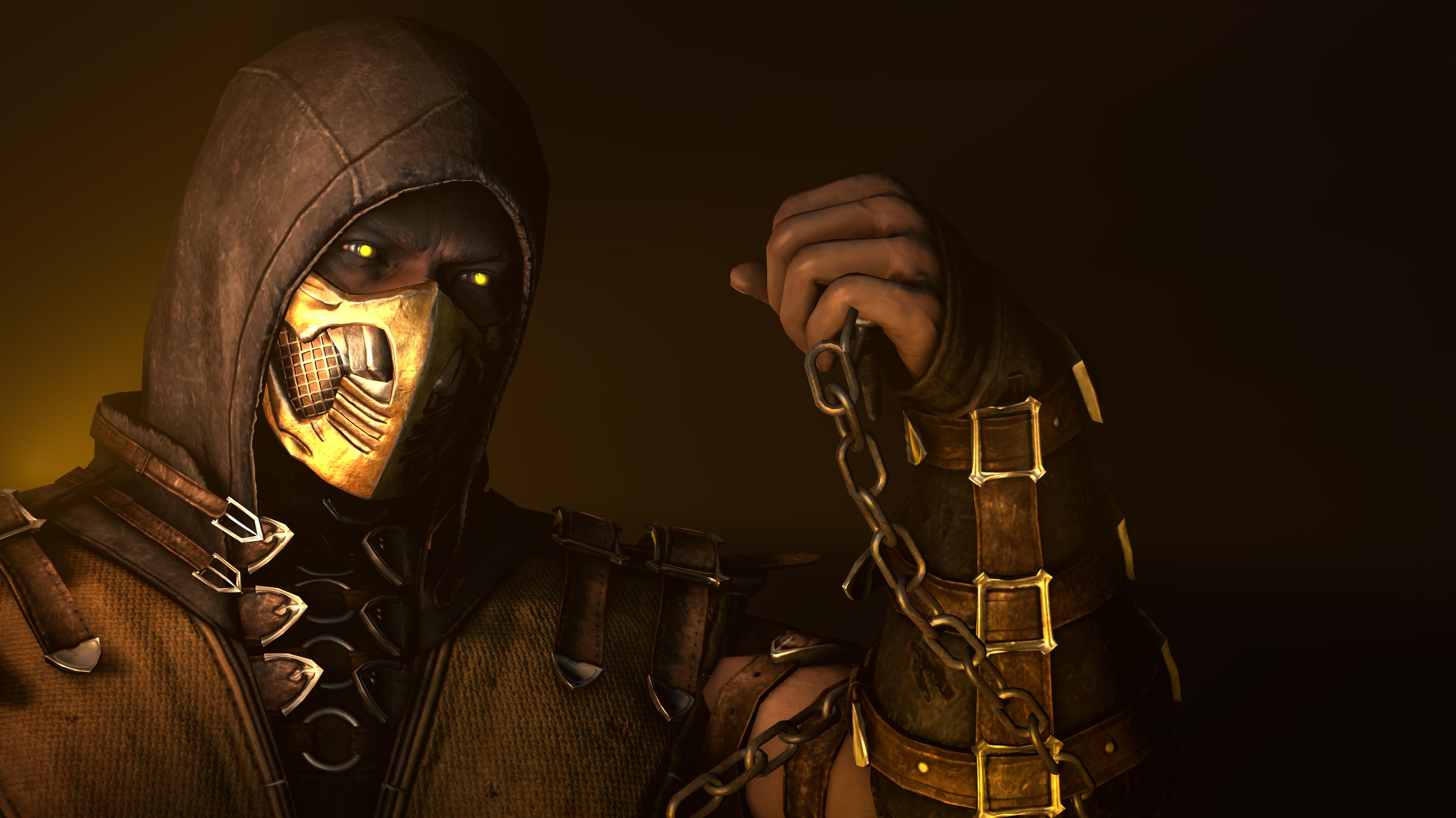 Mortal Kombat X 4k Ultra Hd Wallpaper Background Image