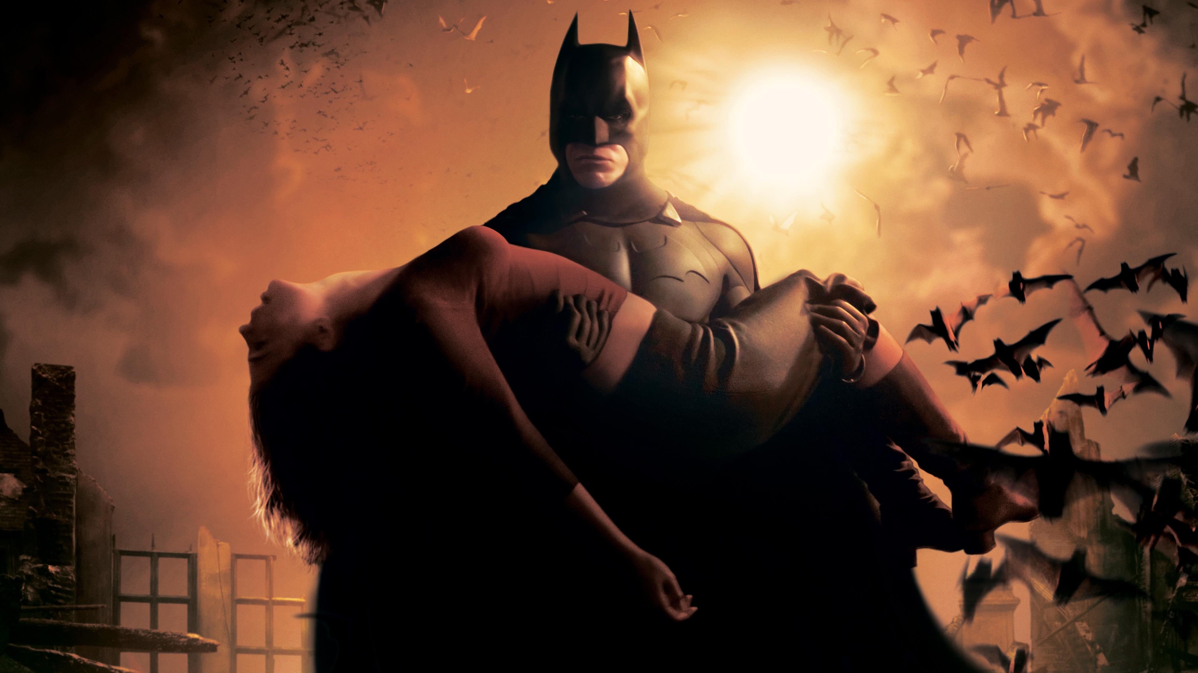 Batman Begins 4k Ultra Fondo De Pantalla Hd Fondo De