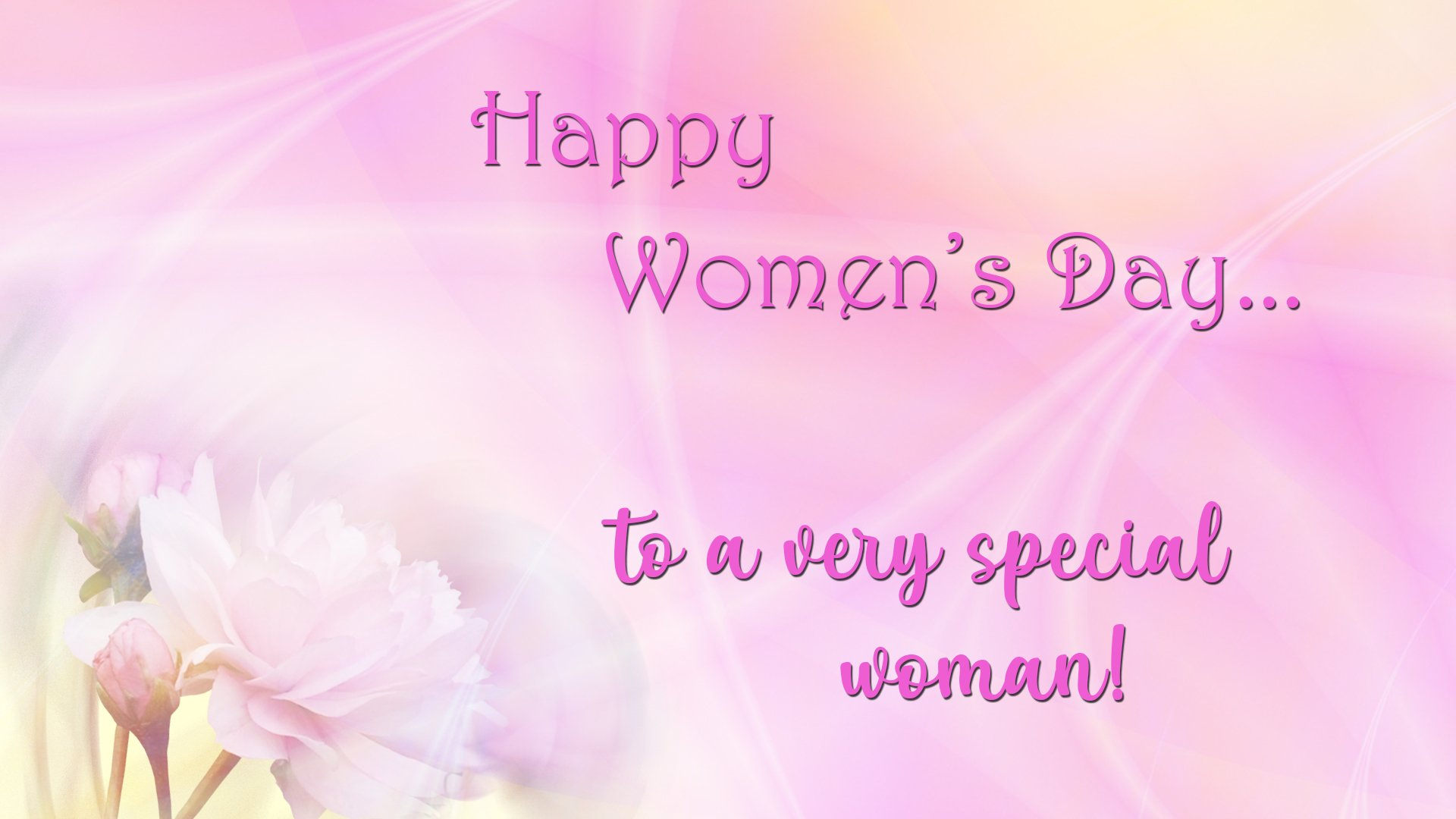 Happy Women S Day Papel De Parede Hd Plano De Fundo 1920x1080