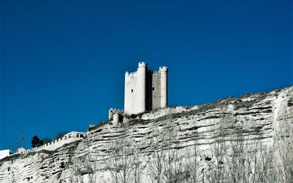 Man Made Castle Castles Spain Albacete Castilla la Mancha HD Wallpaper | Background Image