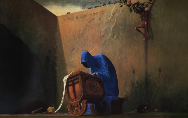 Dark Death Painting HD Wallpaper | Background Image
