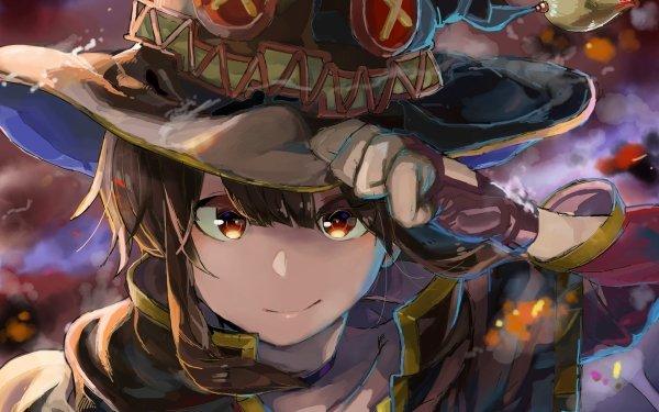 Anime KonoSuba – God's blessing on this wonderful world!! KonoSuba Megumin HD Wallpaper   Background Image