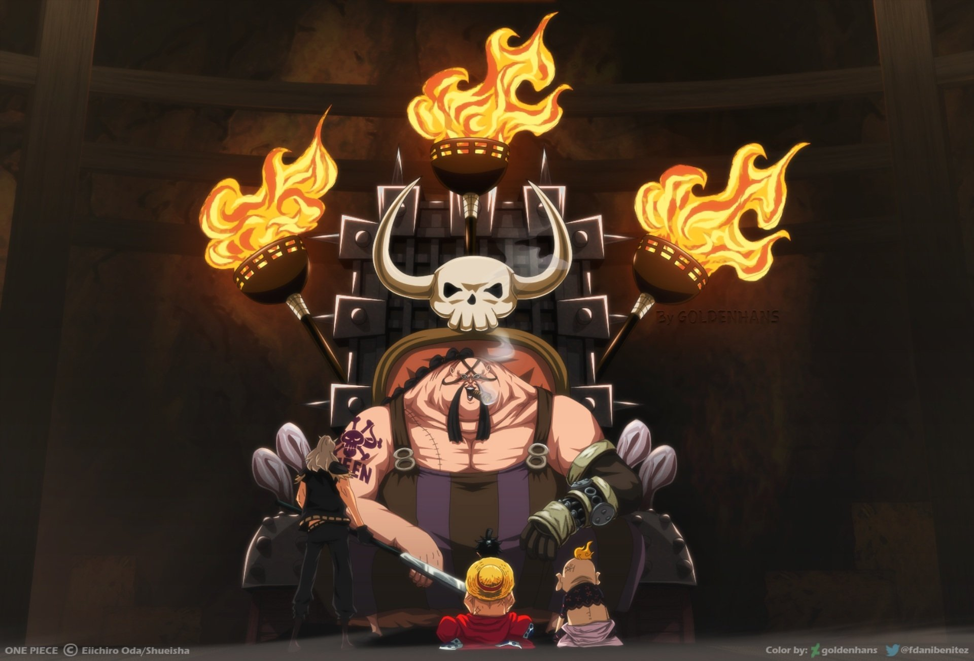One Piece HD Wallpaper   Background Image   1920x1302   ID ...