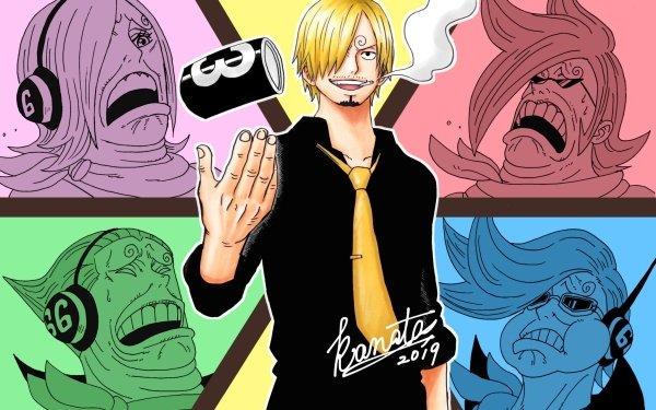 Anime One Piece Reiju Vinsmoke Ichiji Vinsmoke Niji Vinsmoke Yonji Vinsmoke Sanji HD Wallpaper | Background Image