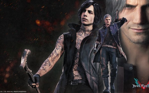 Video Game Devil May Cry 5 Devil May Cry V Dante Nero HD Wallpaper | Background Image