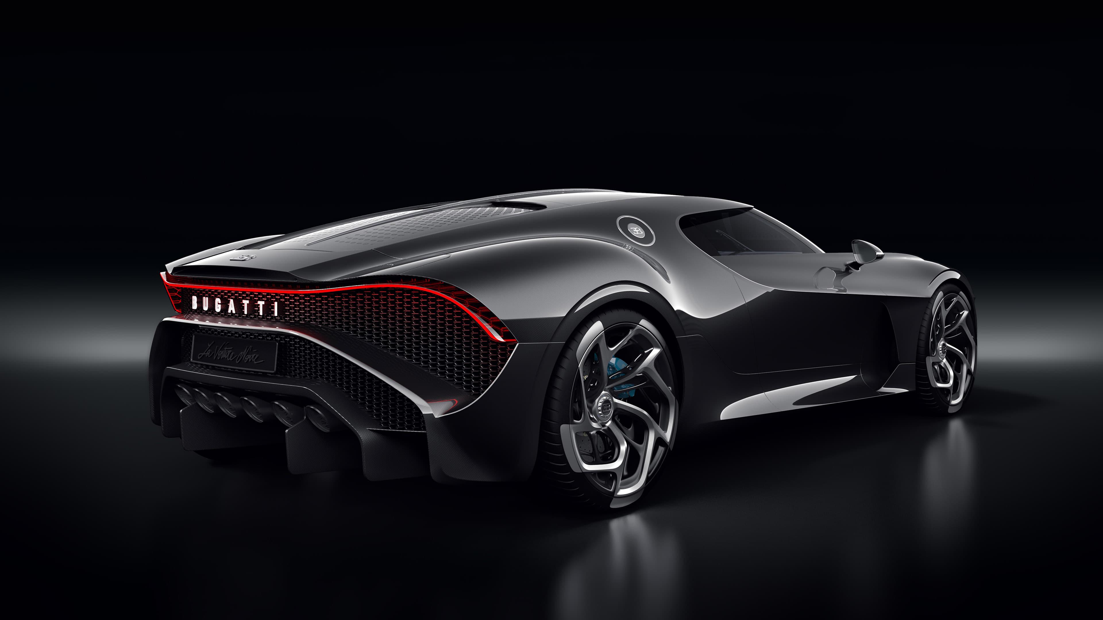 Bugatti La Voiture Noire 4k Ultra Fondo De Pantalla Hd